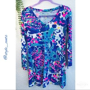 Lilly Pulitzer Long Sleeve Tee Dress